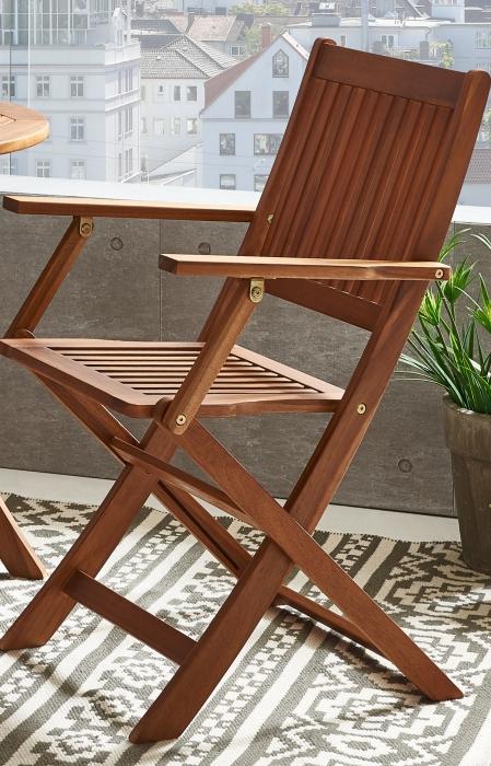 sam balkonm bel akazie tisch rund 65cm silkeborg sangerup. Black Bedroom Furniture Sets. Home Design Ideas