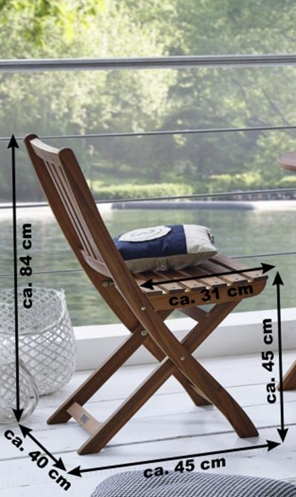 sam balkonm bel akazie tisch rund 65 cm silkeborg farso. Black Bedroom Furniture Sets. Home Design Ideas