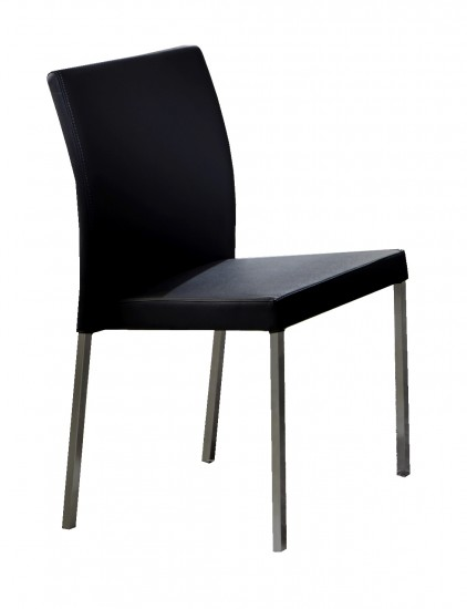 Sam esszimmer stuhl schwarz edelstahl baltrum auf lager for Stuhl schwarz esszimmer