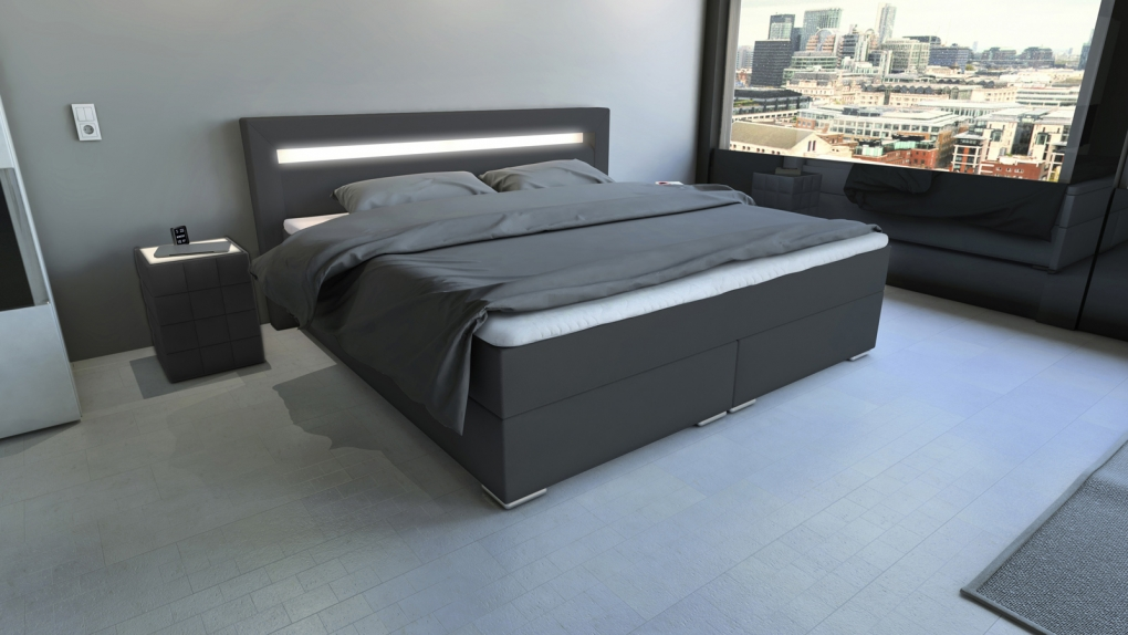 boxspringbett g nstig kaufen wohlf hlbetten von sam. Black Bedroom Furniture Sets. Home Design Ideas
