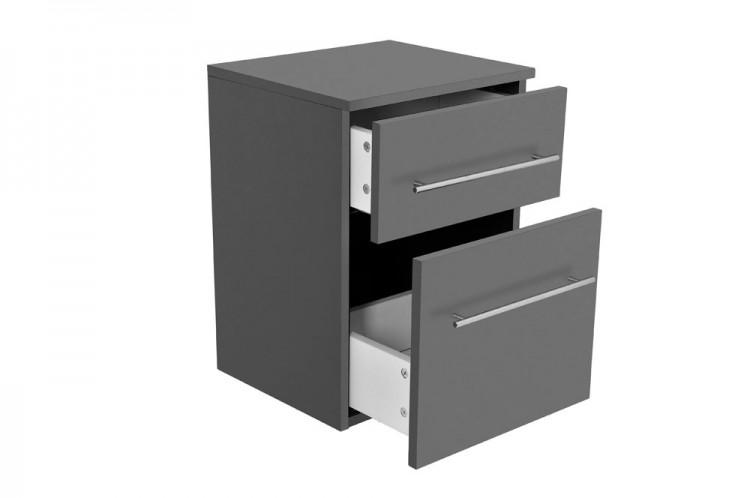 sam 5tlg badezimmer set spiegelschrank grau 80 cm verena demn chst. Black Bedroom Furniture Sets. Home Design Ideas