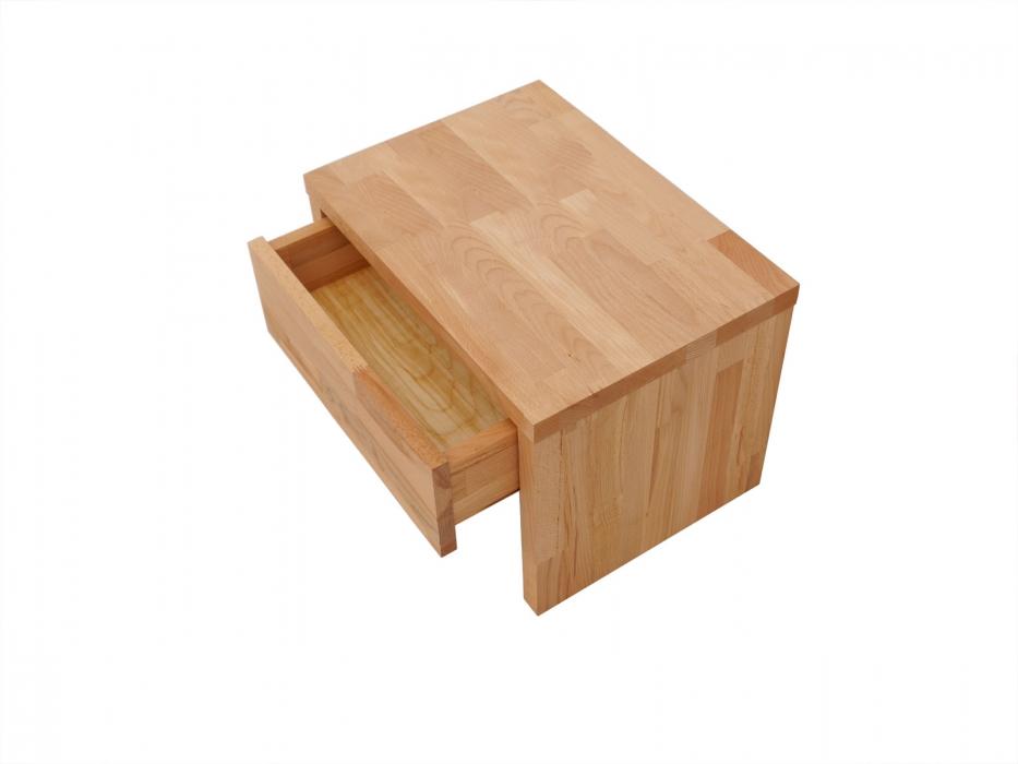 sale nachttisch holz nachtkonsole buche 50 x 35 5 cm ben 2. Black Bedroom Furniture Sets. Home Design Ideas