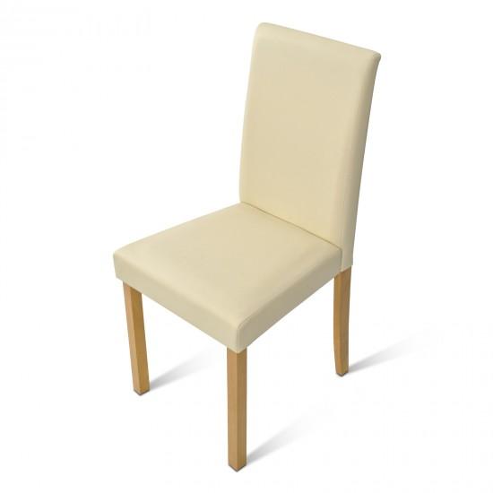 sam esszimmer polster stuhl creme buche billi auf lager. Black Bedroom Furniture Sets. Home Design Ideas