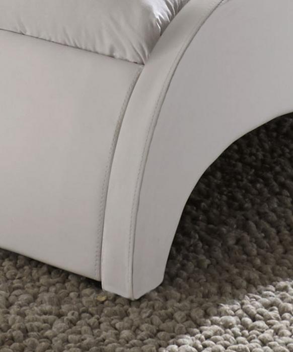 sale polsterbett wei 180 x 200 cm g nstig doppelbett macao. Black Bedroom Furniture Sets. Home Design Ideas