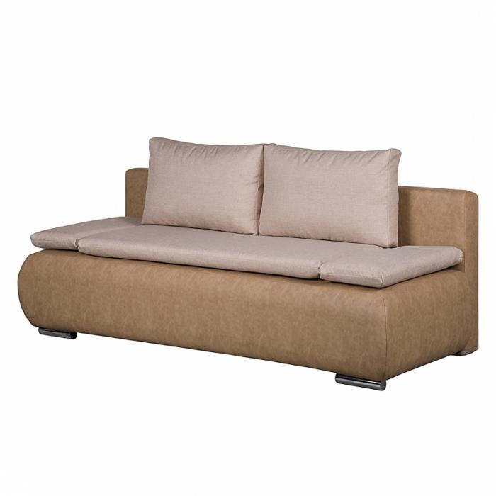 Sale sofa schlafsofa beige creme 95 160 cm adriano for Schlafsofa sale