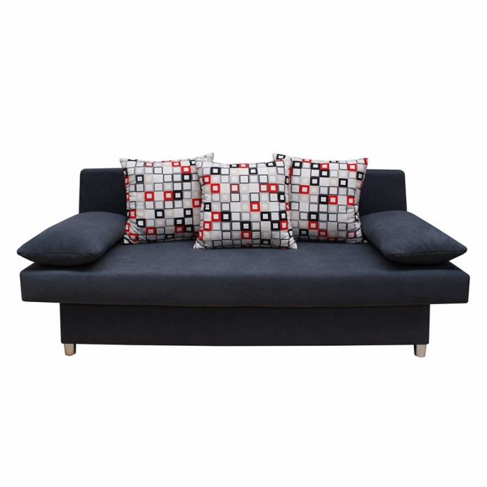 sale sofa schlafsofa schwarz 85 cm 140 cm x 202 cm dagobert. Black Bedroom Furniture Sets. Home Design Ideas