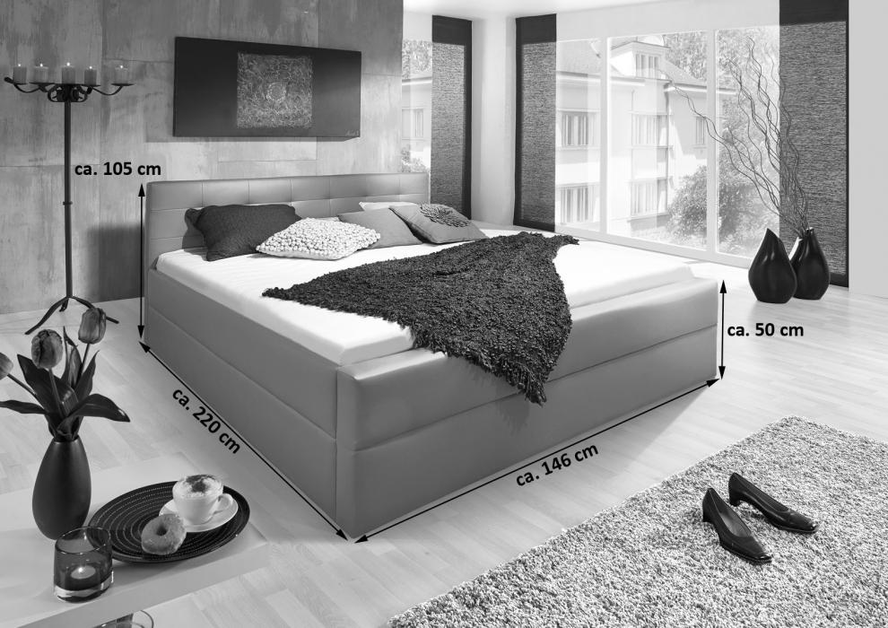 sale polsterbett 140 x 200 cm muddy g nstig bettgestell kappa. Black Bedroom Furniture Sets. Home Design Ideas