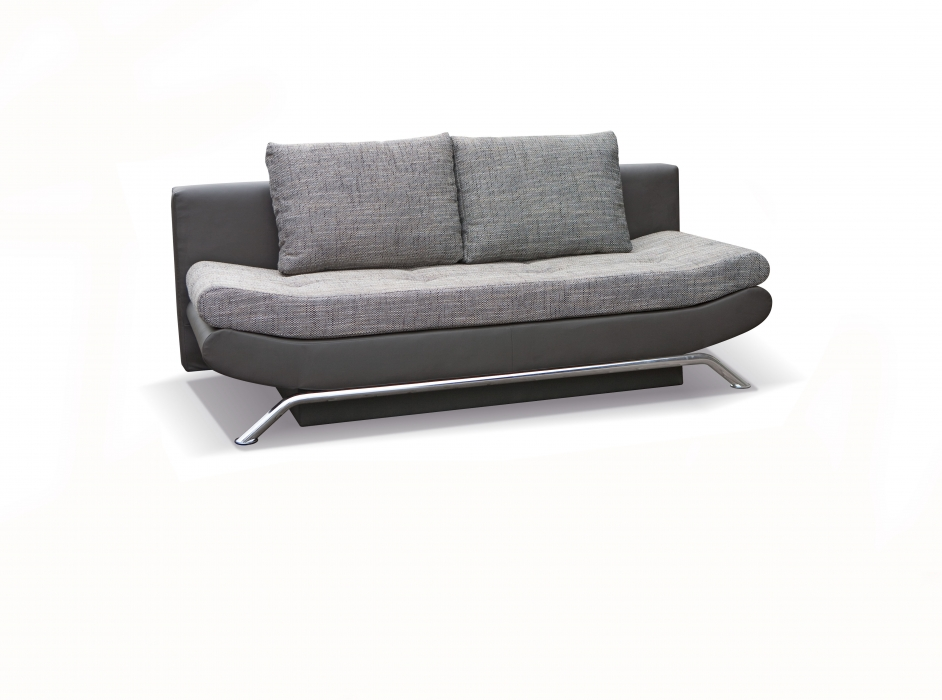sale schlafsofa couch 203 cm schwarz grau jazzy. Black Bedroom Furniture Sets. Home Design Ideas