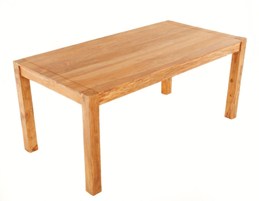 SALE Esstisch Holz massiv 200 x 90 cm Esszimmertisch Palisander Siam