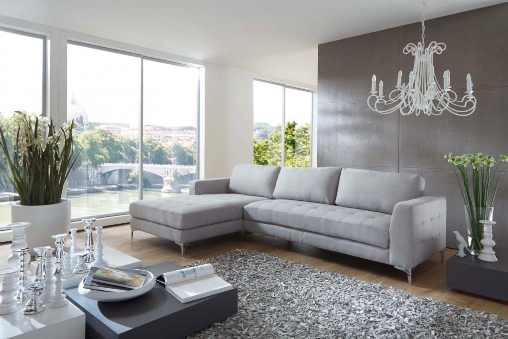sam b ware 102 ecksofa stoff grau 180 x 300 cm links eckcouch. Black Bedroom Furniture Sets. Home Design Ideas