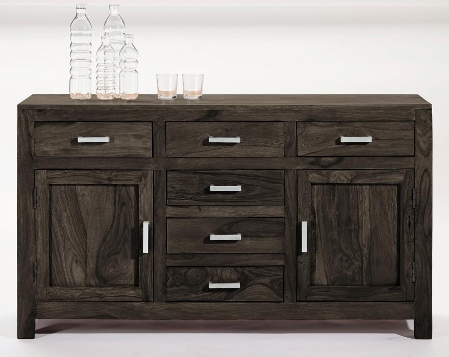 sam b ware 114 sideboard massivholz kommode sheesham stone 140 cm. Black Bedroom Furniture Sets. Home Design Ideas