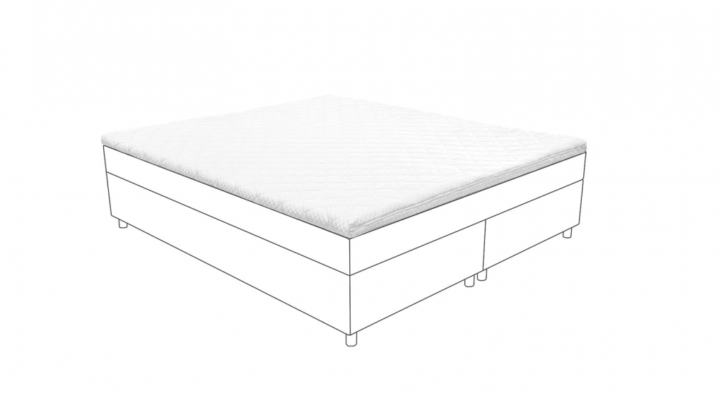 SAM® Topper 140 x 200 Viscoschaumtopper Matratzenauflage 5 cm itemprop=