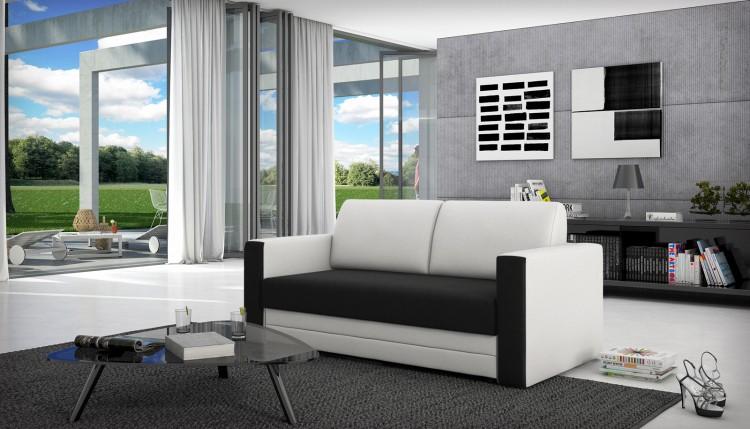 Sam sofa schwarz wei schlafsofa balada 170 cm demn chst for Schlafsofa 170