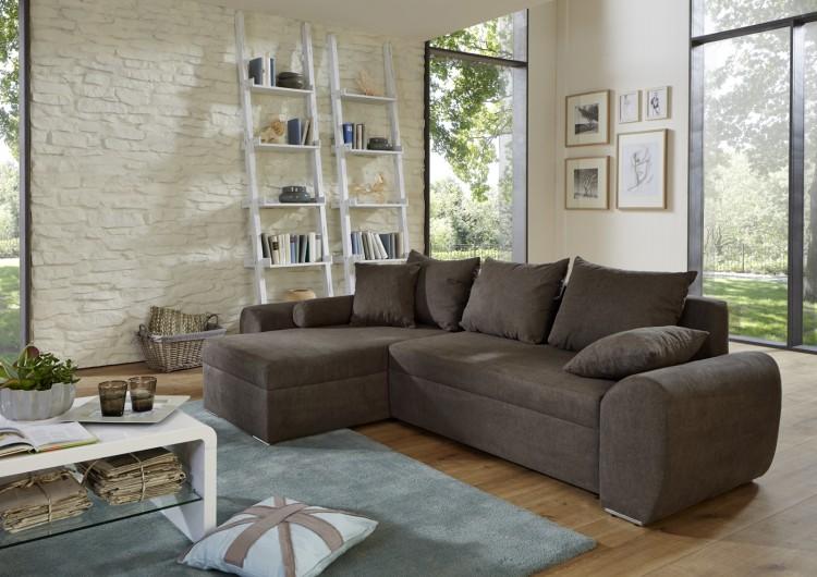sam ecksofa grau snow schlafsofa 160 x 260 cm bestellware produktfoto. Black Bedroom Furniture Sets. Home Design Ideas