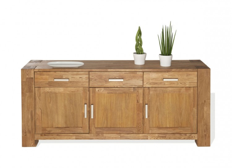 sam sideboard wildeiche massiv 175 cm sit zeus 1603 01 auf lager. Black Bedroom Furniture Sets. Home Design Ideas