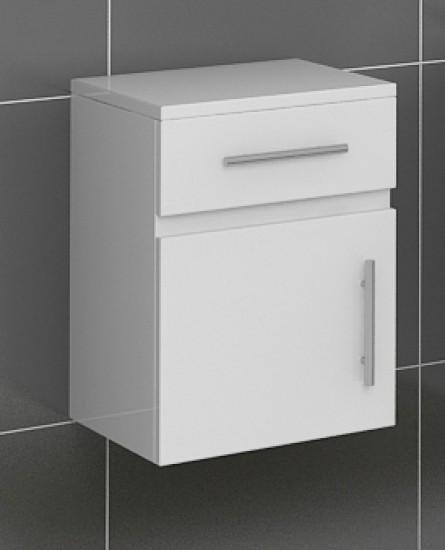 sam badezimmer unterschrank hochglanz wei lunar. Black Bedroom Furniture Sets. Home Design Ideas