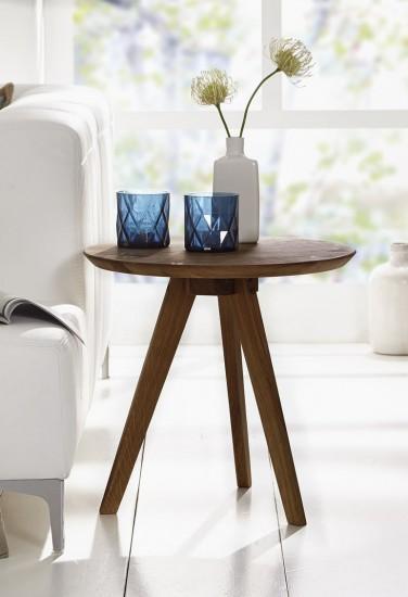 sam couchtisch rund wildeiche 50 cm olpe g nstig. Black Bedroom Furniture Sets. Home Design Ideas
