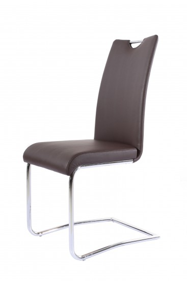 sam design freischwinger stuhl balu echtleder braun rh2233. Black Bedroom Furniture Sets. Home Design Ideas