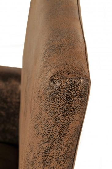 sam esszimmer armlehnstuhl wildlederoptik eiche maestre