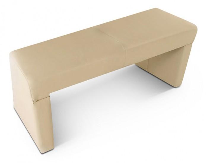sam esszimmer sitzbank kuba recyceltes leder creme 110 cm. Black Bedroom Furniture Sets. Home Design Ideas