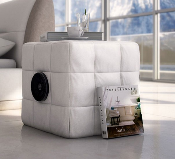 sessel mit lautsprechern soundsessel bequemer sessel mit. Black Bedroom Furniture Sets. Home Design Ideas