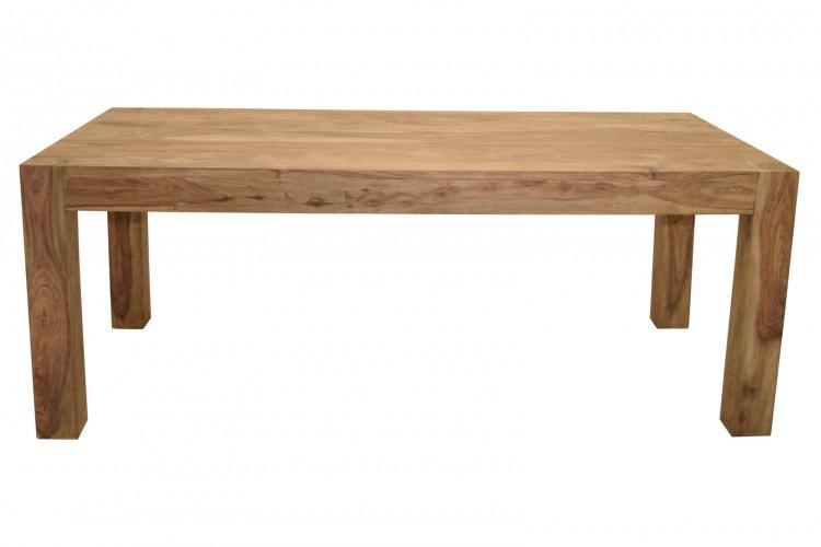 sam sheesham holztisch yoga big 6515 natur 200 x 100 cm. Black Bedroom Furniture Sets. Home Design Ideas