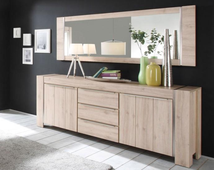 sam spiegel 200 cm malm aus eichenachbildung. Black Bedroom Furniture Sets. Home Design Ideas