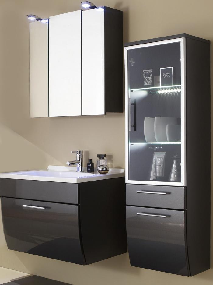sam badm bel set 3tlg anthrazit beckenauswahl santana auf lager. Black Bedroom Furniture Sets. Home Design Ideas
