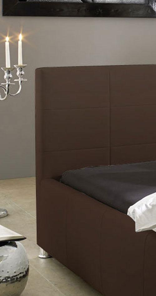 sam design bett 160 x 200 cm braun kira auf lager. Black Bedroom Furniture Sets. Home Design Ideas