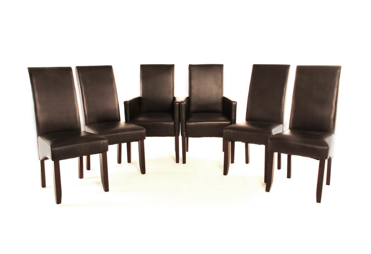 Echt Leder Stühle mit nett stil für ihr haus ideen