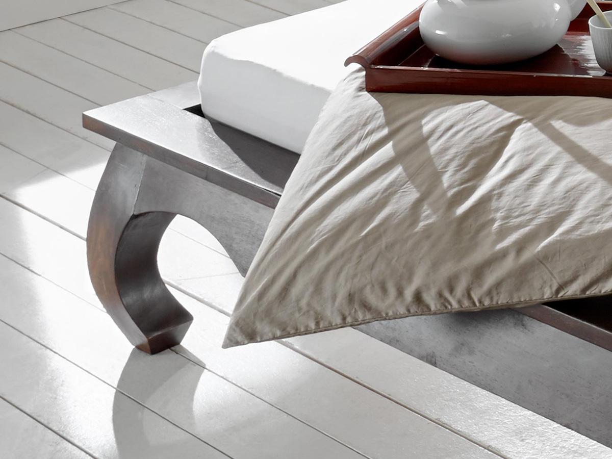 sam holzbett opium dark palisander 180 x 200 auf lager. Black Bedroom Furniture Sets. Home Design Ideas
