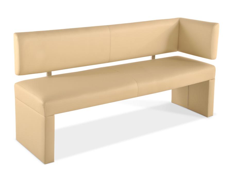 sam sitzbank ottomane recyceltes leder 170 cm creme. Black Bedroom Furniture Sets. Home Design Ideas