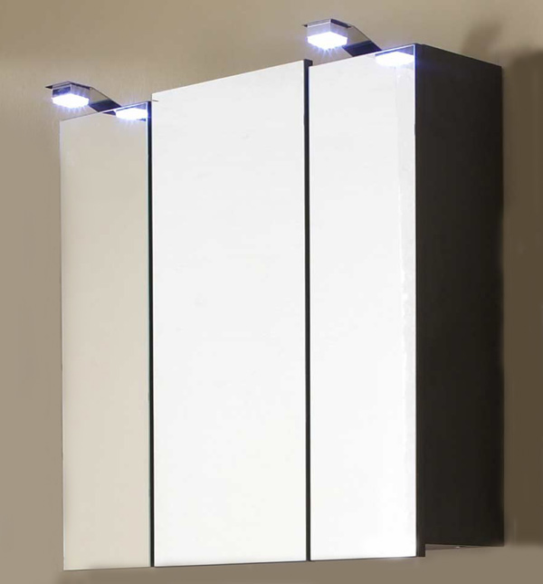 sam badezimmer spiegelschrank mit led beleuchtung santana