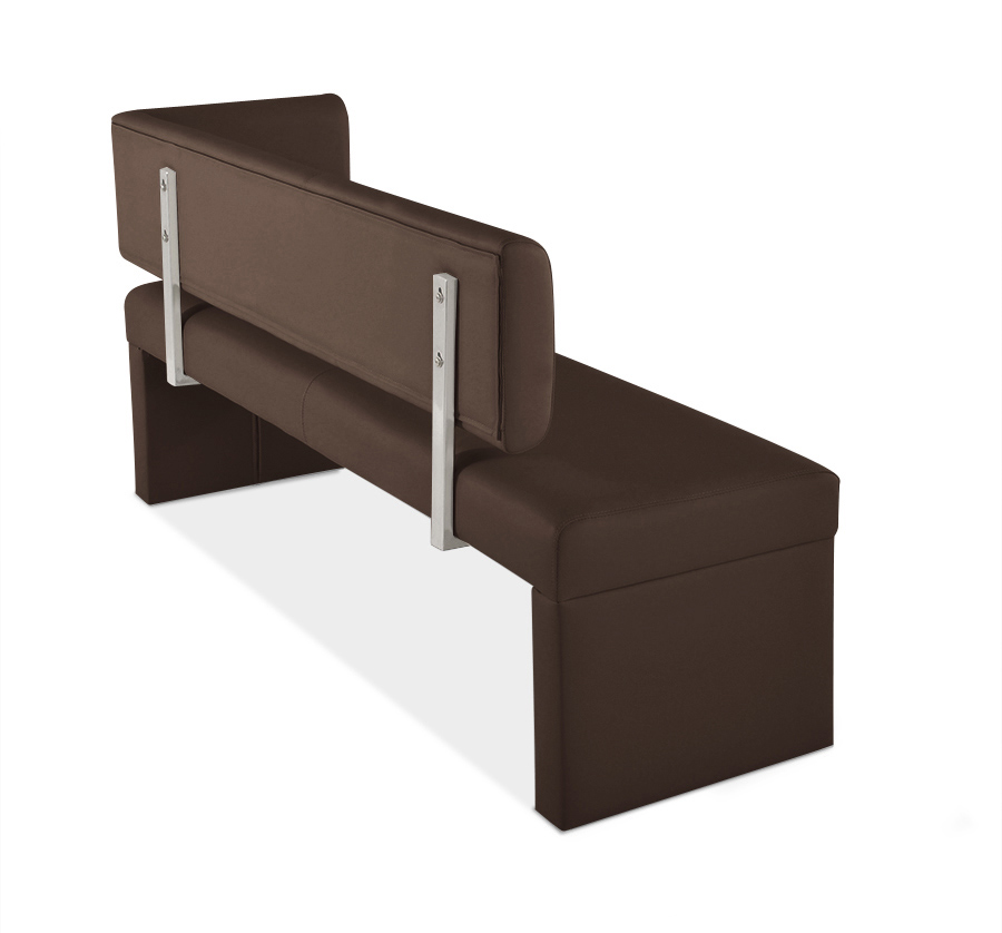 sam sitzbank ottomane recyceltes leder 150 cm braun sabrina auf lager. Black Bedroom Furniture Sets. Home Design Ideas