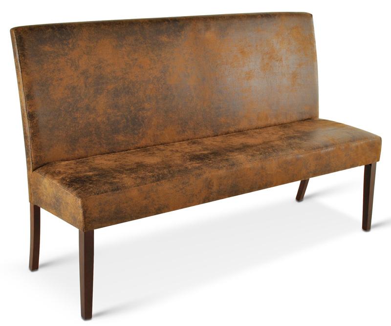 sam esszimmer sitzbank wildleder optik kolonial 180 cm. Black Bedroom Furniture Sets. Home Design Ideas