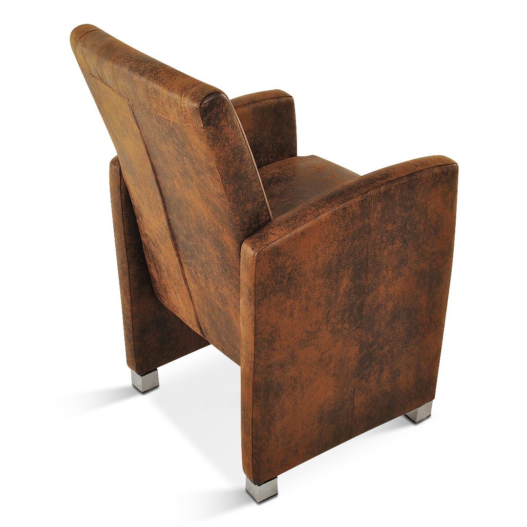 sam esszimmer armlehnsessel wildleder optik stoff markus. Black Bedroom Furniture Sets. Home Design Ideas