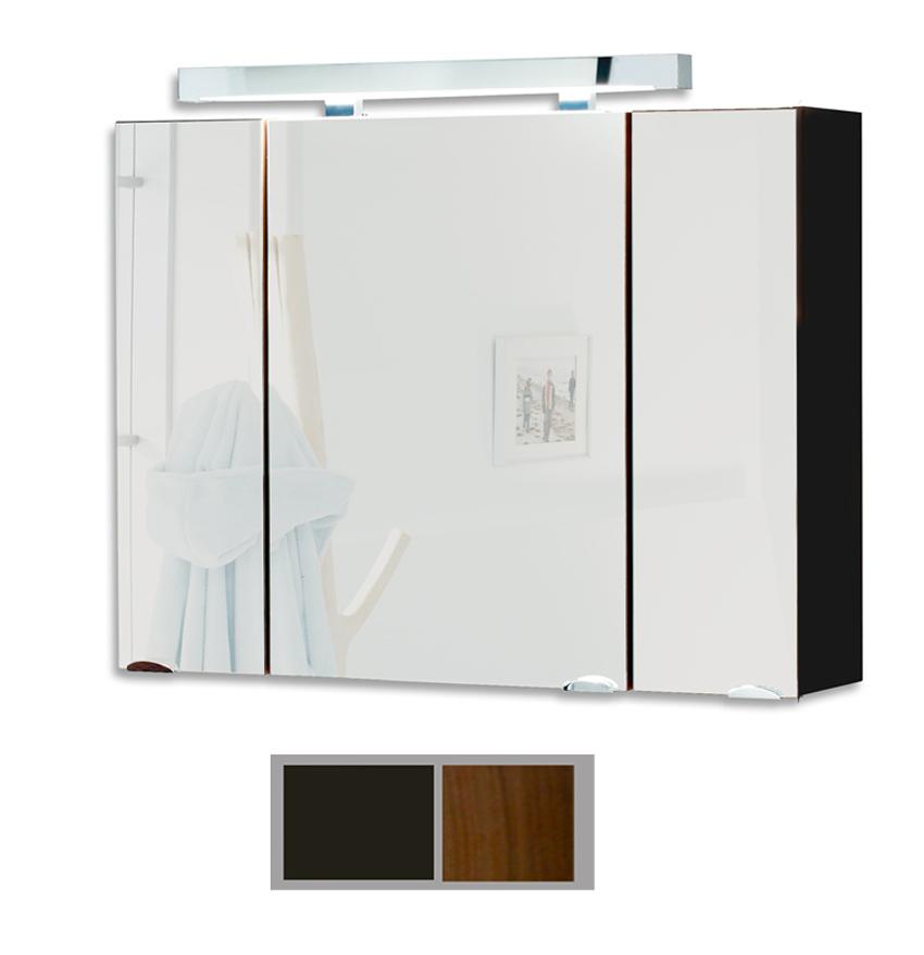 SAM® Badezimmer Spiegelschrank Beleuchtung 90cm Santana Farbauswahl