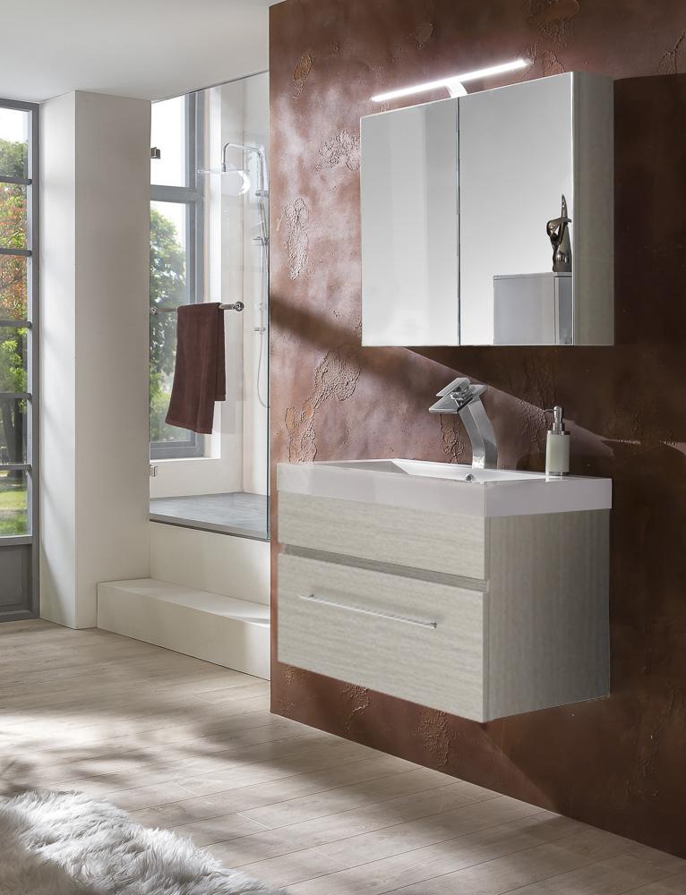 sam 2tlg badezimmer set sonomaeiche 80 cm lunar. Black Bedroom Furniture Sets. Home Design Ideas