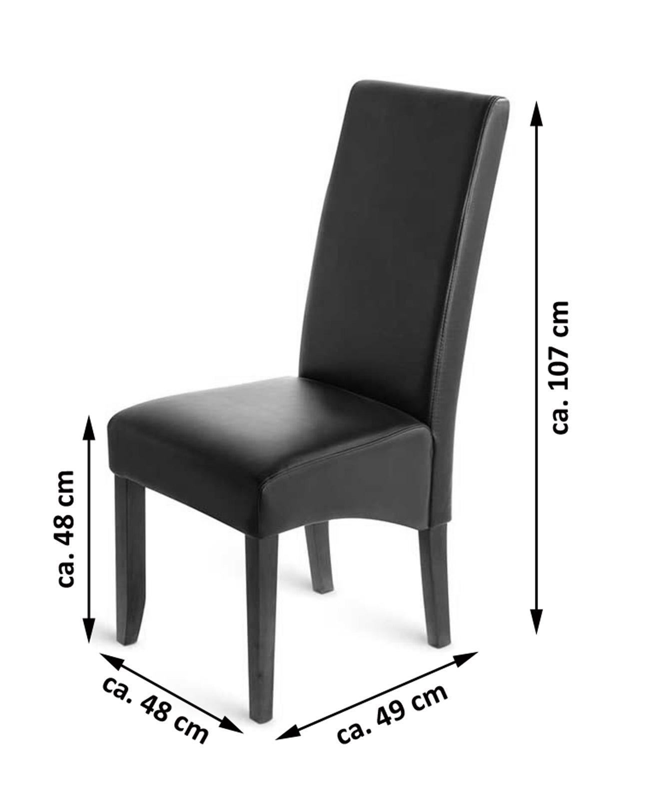 sam esszimmerstuhl stuhl braun recyceltes leder florenz. Black Bedroom Furniture Sets. Home Design Ideas
