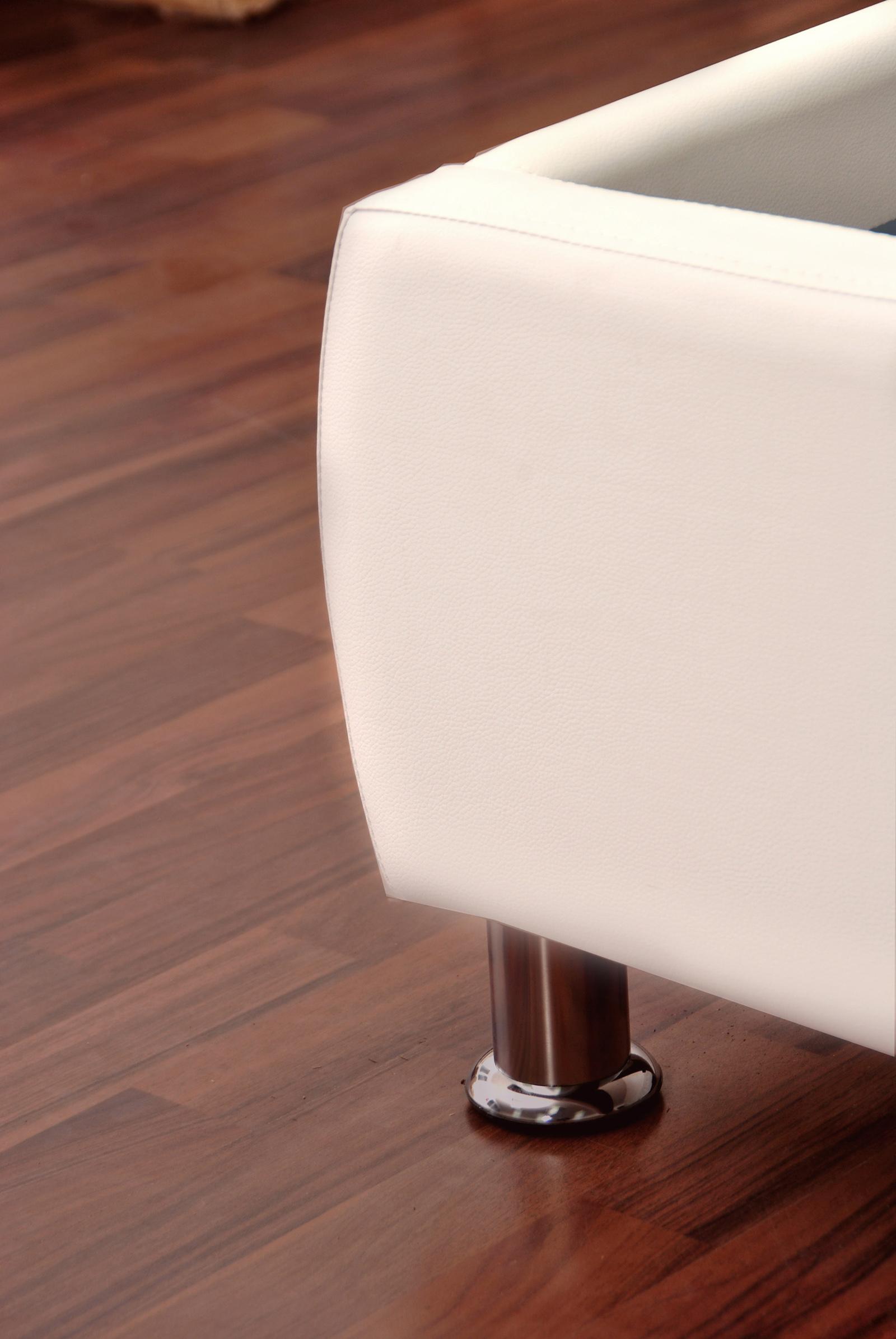 sam polsterbett 180x200 cm wei bettgestell g nstig zarah demn chst. Black Bedroom Furniture Sets. Home Design Ideas
