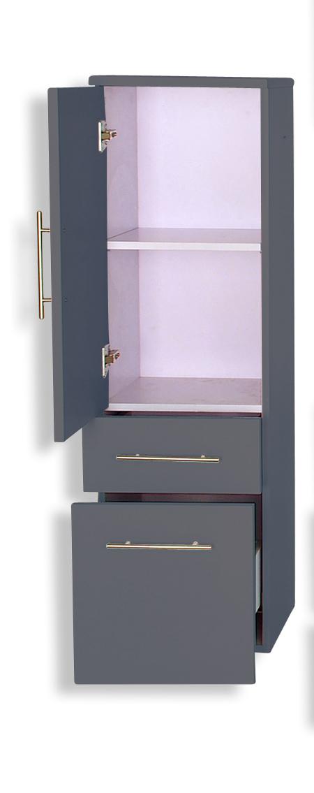 sam 3tlg badezimmer set grau 100 cm beckenauswahl basel. Black Bedroom Furniture Sets. Home Design Ideas