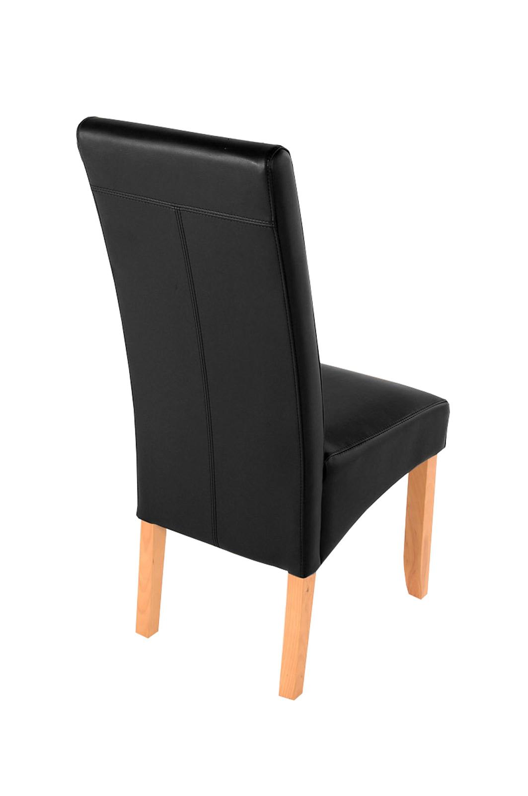 sam esszimmerstuhl stuhl schwarz recyceltes leder sancho demn chst. Black Bedroom Furniture Sets. Home Design Ideas