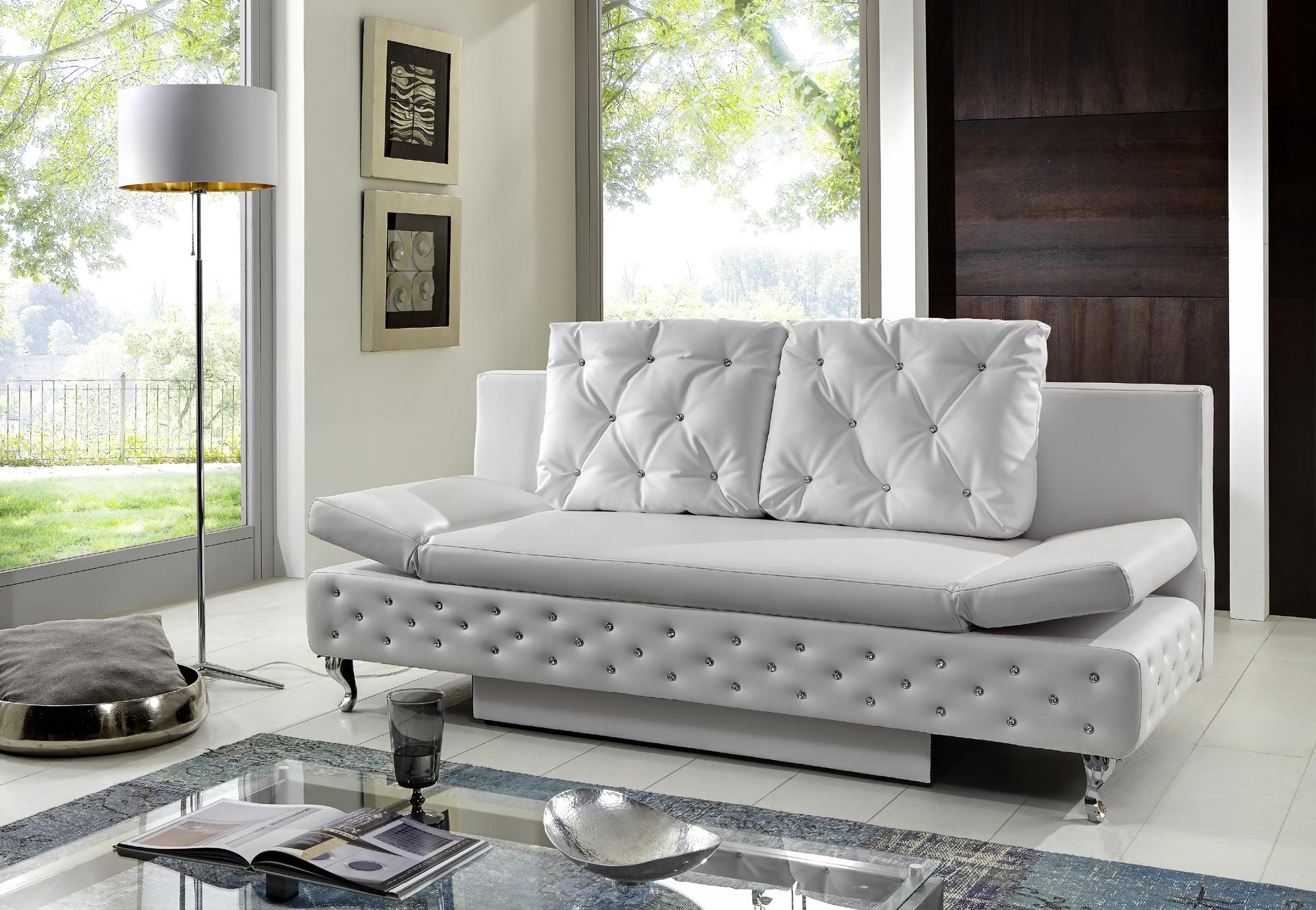 Sam schlafsofa wei sofa roxy 200 cm auf lager for Schlafcouch auf rechnung