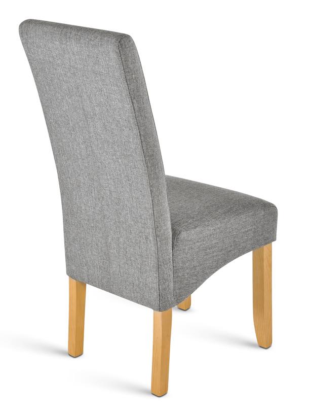 sam esszimmer stoff stuhl grau buche cordoba demn chst. Black Bedroom Furniture Sets. Home Design Ideas
