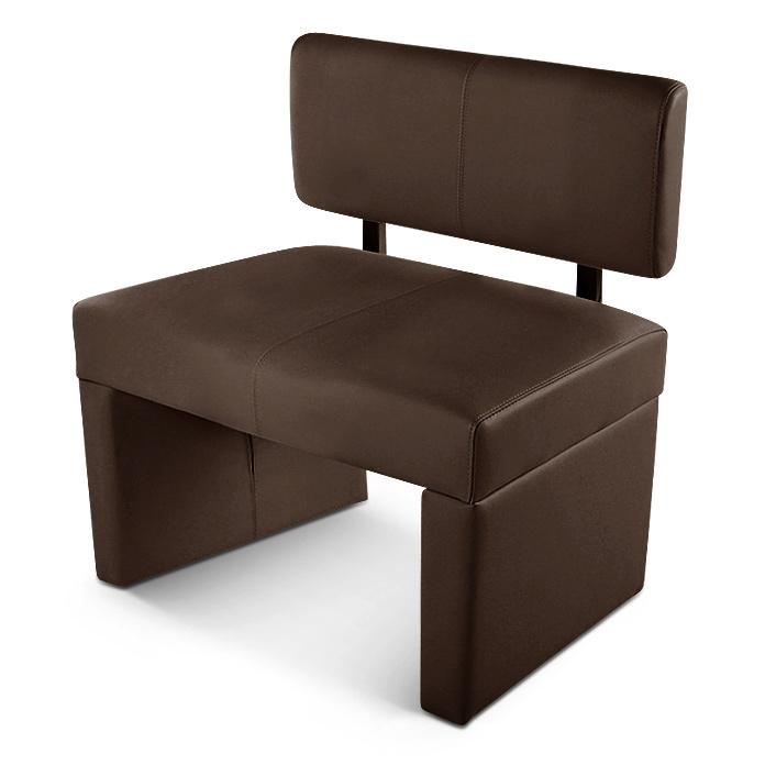 sam esszimmerbank 80 cm braun recyceltes leder sabrina demn chst. Black Bedroom Furniture Sets. Home Design Ideas