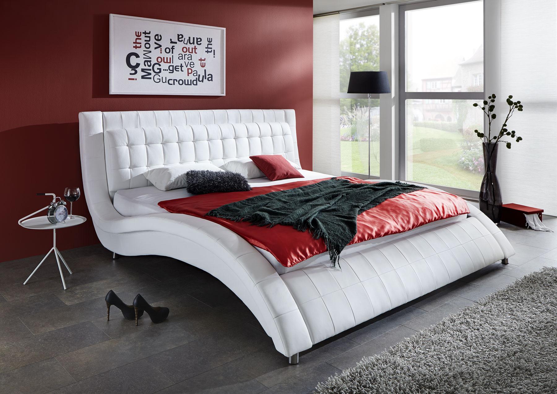 Ungewöhnlich Weiß Kingsize Bett Rahmen Mit Lager Zeitgenössisch .