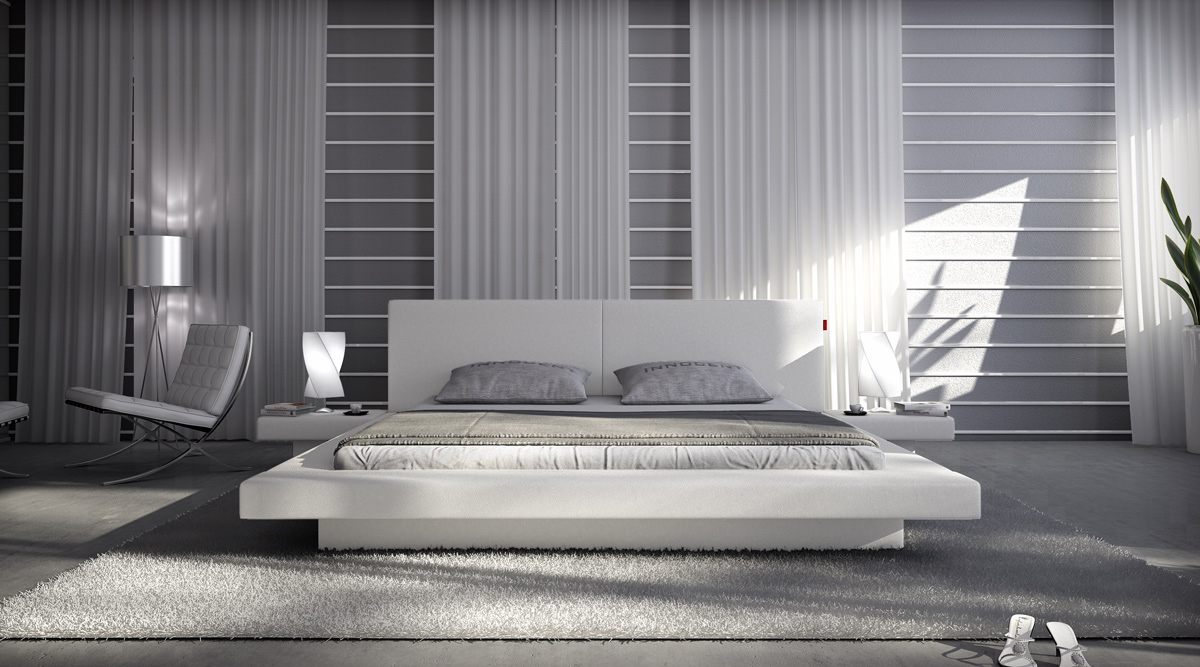 Bett weiß leder 180x200  SAM® Bett Innocent 180 x 200 cm Farbauswahl WHITE PEARL