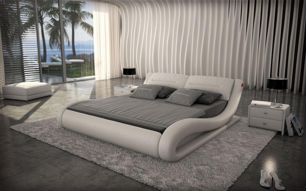 sam polsterbett innocent 200 x 200cm farbauswahl beluga. Black Bedroom Furniture Sets. Home Design Ideas
