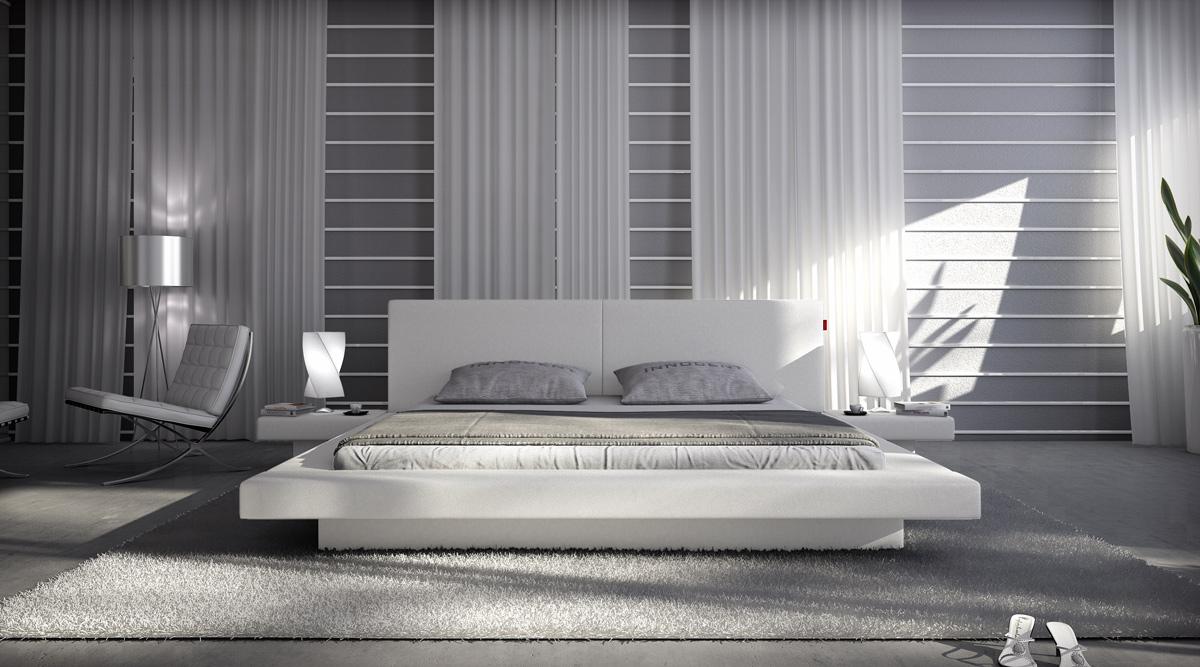 Flache Betten sam bett 200 x 220 cm farbauswahl white pearl