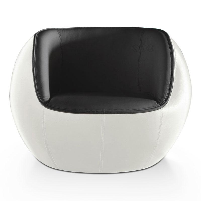 Loungesessel Tequila Weiß Schwarz ~ SAM® Design Loungesessel weiß schwarz Progress Auf Lager